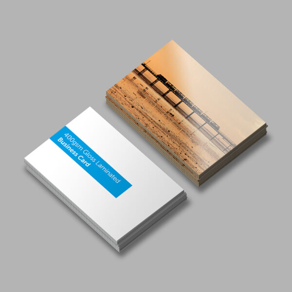 Business Cards Laminated Gloss